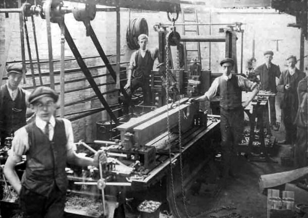 Trabajando en 1920
