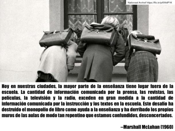 Marshall McLuhan. El aula sin muros